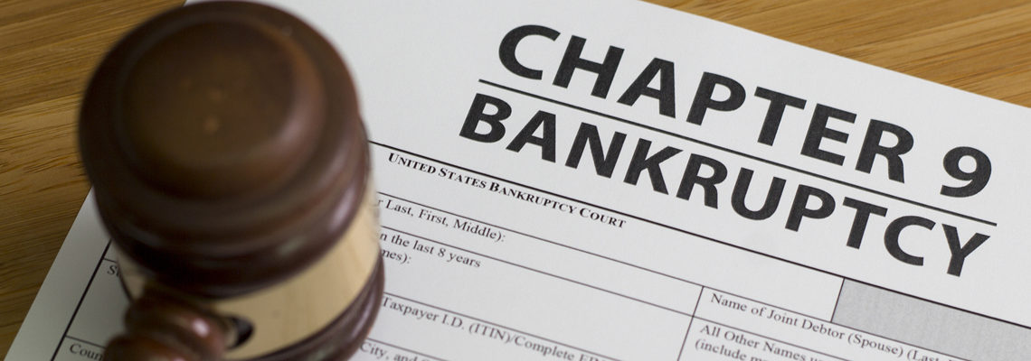 Three Things To Know about Chapter 9 Bankruptcy